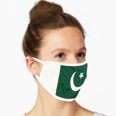 FABRIC FACE MASKS - PAKISTAN FLAG - Export Mall Online Store Sale