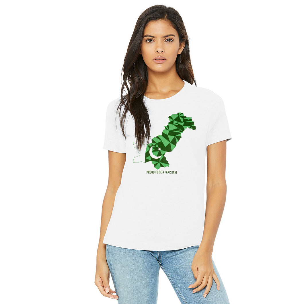 WOMEN'S S/S GRAPHIC TEE-WHITE-EMSS20KW-2004 - Export Mall Online Store Sale