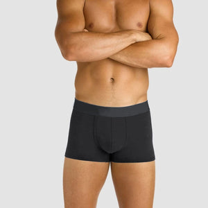 MEN'S BOXER BRIEF-BLACK-SSFW4KM-1041 - Export Mall Online Store Sale