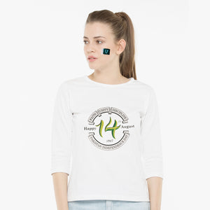 WOMEN'S S/S GRAPHIC TEE-WHITE-EMSS20KW-2008 - Export Mall Online Store Sale