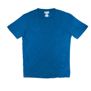 MEN'S POCKET TEE-BLUE - Export Mall Online Store Sale