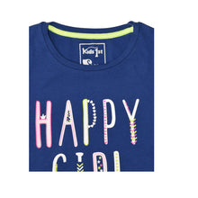 Load image into Gallery viewer, GIRL'S S/S GRAPHIC TEE-BLUE-EMSS20KG-2207 - Export Mall Online Store Sale