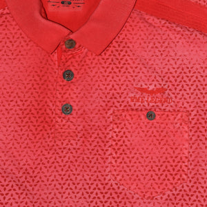 MEN'S S/S RED PME LEGEND POLO-3730 - Export Mall Online Store Sale