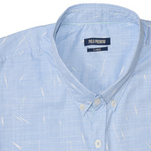 Load image into Gallery viewer, MEN'S WOVEN SHIRT BLUE/WHITE SPOTS-25 - Export Mall Online Store Sale