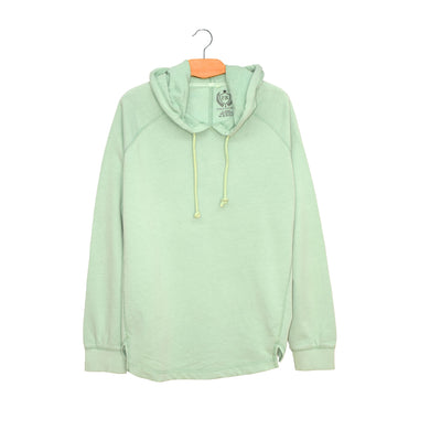 WOMEN'S PULLOVER HOOD-SEA GREEN-3847-25 - Export Mall Online Store Sale