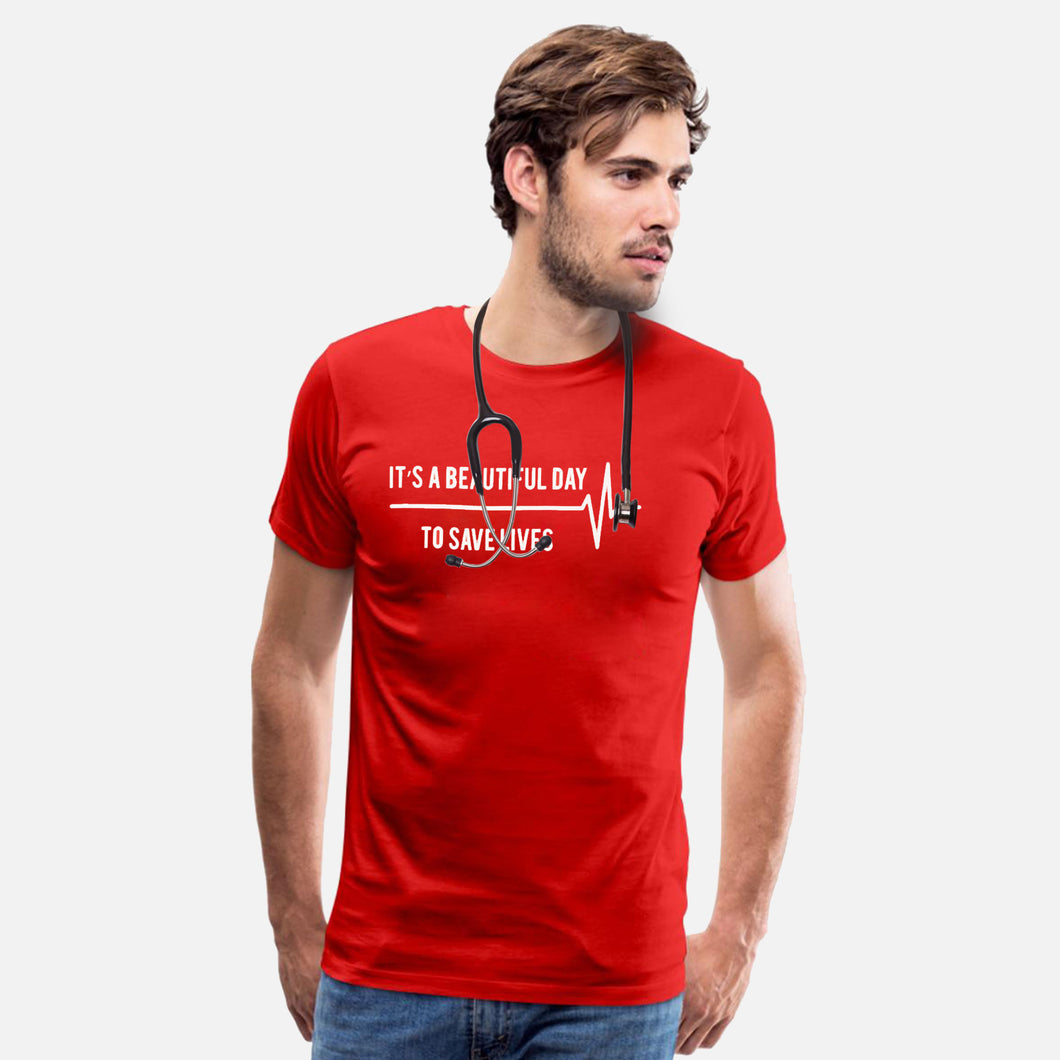 MEN'S S/S GRAPHIC TEE-RED-EMSS20KM-1037 - Export Mall Online Store Sale