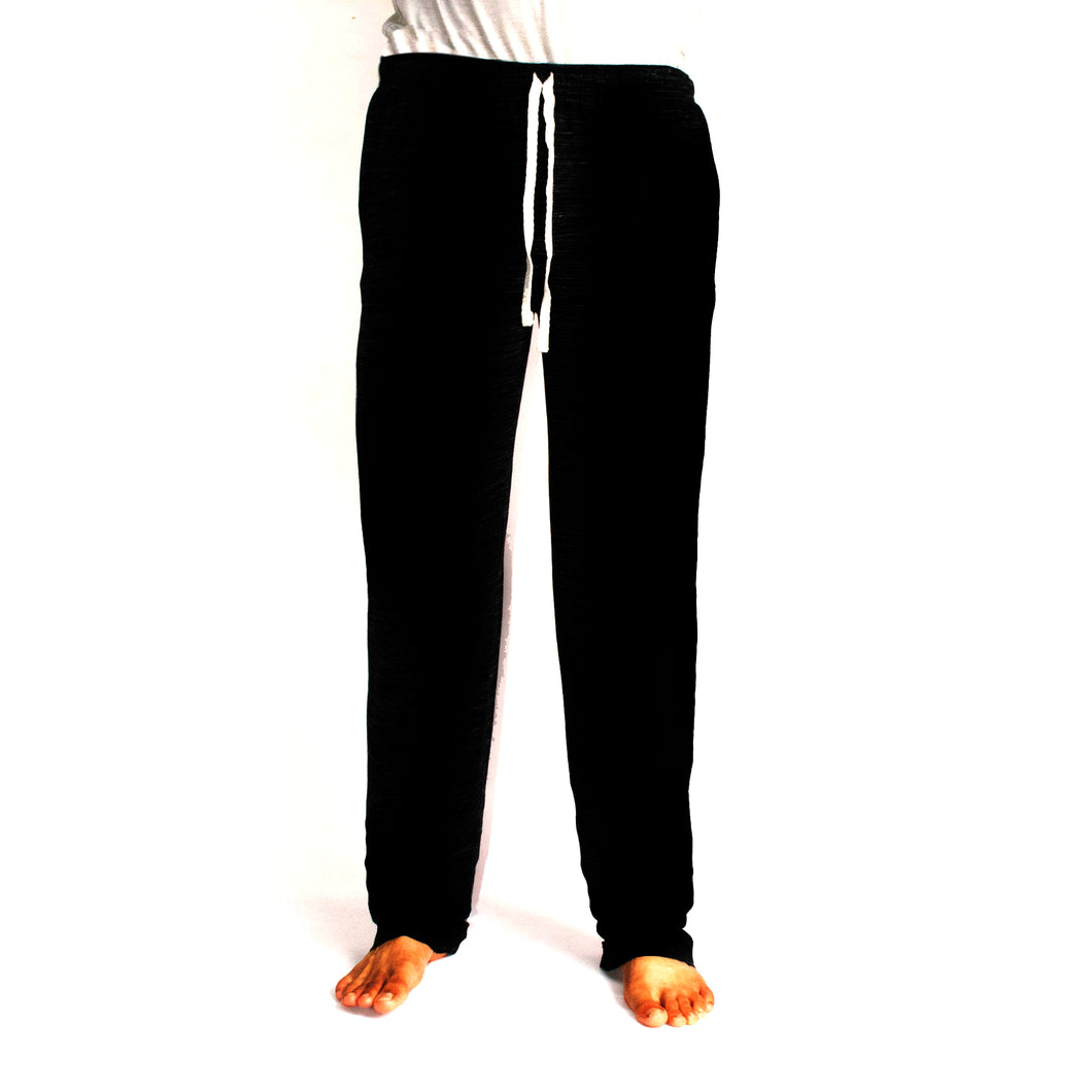 MEN'S TROUSER - SOLID BLACK - Export Mall Online Store Sale