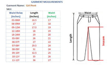 Load image into Gallery viewer, GIRL'S PANT- LIGHT BLUE - Export Mall Online Store Sale