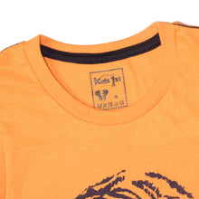 Load image into Gallery viewer, BOY'S SET (MUSCLE TEE & SHORT)-ORANGE/BLACK-SSSS20KB-1199 - Export Mall Online Store Sale