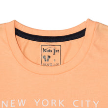 Load image into Gallery viewer, BOY'S SET (S/S GRAPHIC TEE & SHORT)-Peach/Black-SSSS20KB-1173 - Export Mall Online Store Sale
