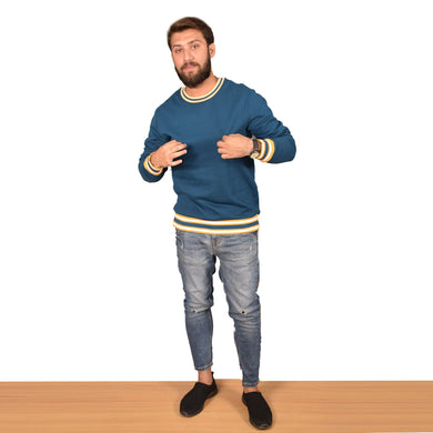 MEN'S L/S SWEAT SHIRT-ZINK-SSFW20KM-1003 - Export Mall Online Store Sale