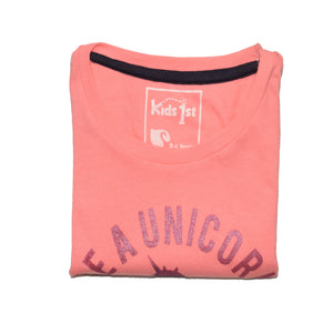 GIRL'S S/S GRAPHIC TEE-PINK-EMSS20KG-2211 - Export Mall Online Store Sale