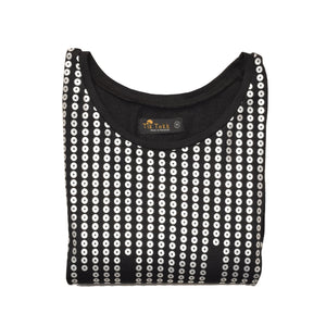WOMEN'S KNIT SHIRT-BLACK-3587 - Export Mall Online Store Sale