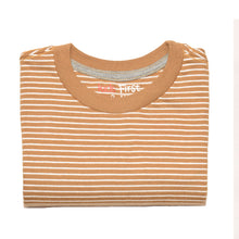 Load image into Gallery viewer, BOY'S S/S TEE-25BS-STK-ASRT01-Golden White Stripe - Export Mall Online Store Sale