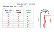 Load image into Gallery viewer, MEN'S DENIM JEANS PANT - FONE - Export Mall Online Store Sale