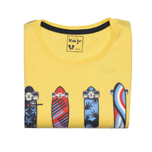 Load image into Gallery viewer, BOY'S S/S GRAPHIC TEE-Vanila-EMSS20KB-1105 - Export Mall Online Store Sale