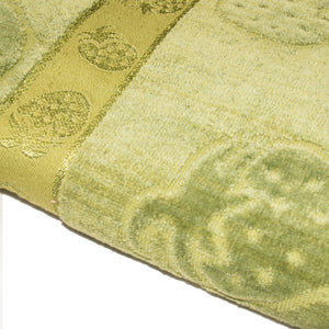 BATH TOWEL JACQUARD VELVET -GREEN-SSSS20TWL9004 - Export Mall Online Store Sale