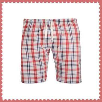 MEN'S SHORT-WHITE/RED-EMSS21WM-3102 - Export Mall Online Store Sale