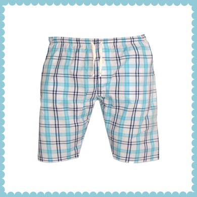 MEN'S SHORT-WHITE/BLUE-EMSS21WM-3102 - Export Mall Online Store Sale