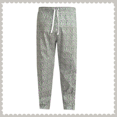 WOMEN'S TROUSER-WHITE/GREEN-EMSS21WW-4001 - Export Mall Online Store Sale