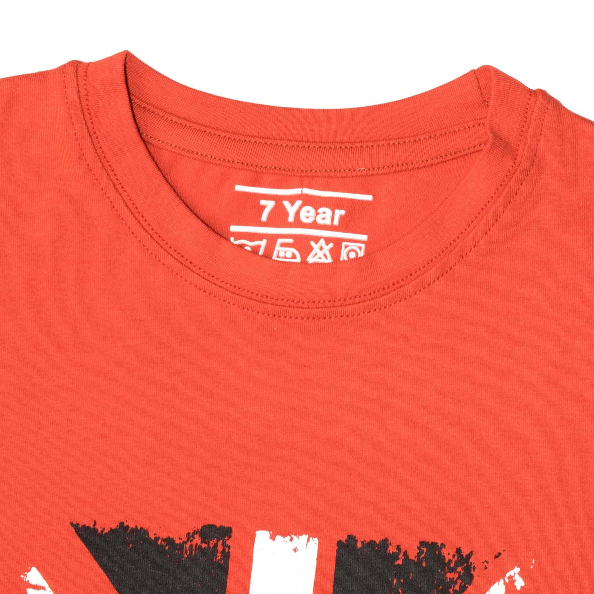 BOY'S S/S GRAPHIC TEE-RED-SSSS20KB-1113