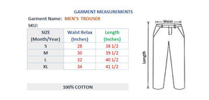 MEN'S KNIT TROUSER-ROYAL BLUE-SSSS20KM-1060 - Export Mall Online Store Sale