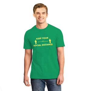 MEN'S S/S GRAPHIC TEE - BRIGHT GREEN-1008 - Export Mall Online Store Sale