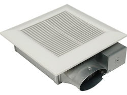 "Panasonic FV-0510VSC1  Bathroom Fan, 50-80-100 CFM WhisperValue Moisture Control Super Low Profile Ventilation for 4"" Duct"