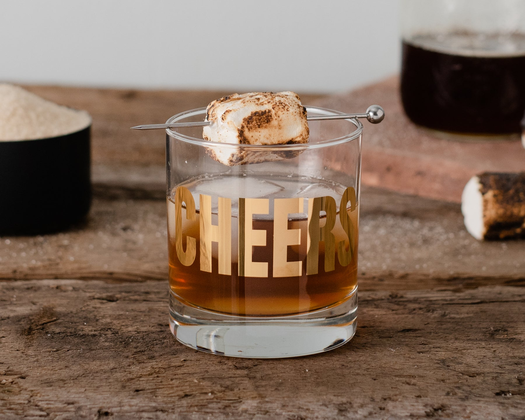 Toasted Marshmallow Cocktail