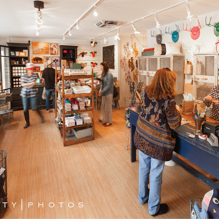 image of the inside of MADE, a boutique in Jackson, Wyoming