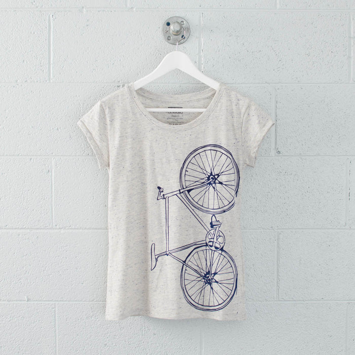 FINAL SALE Women's Fixie Speckle Tee - Vital Industries