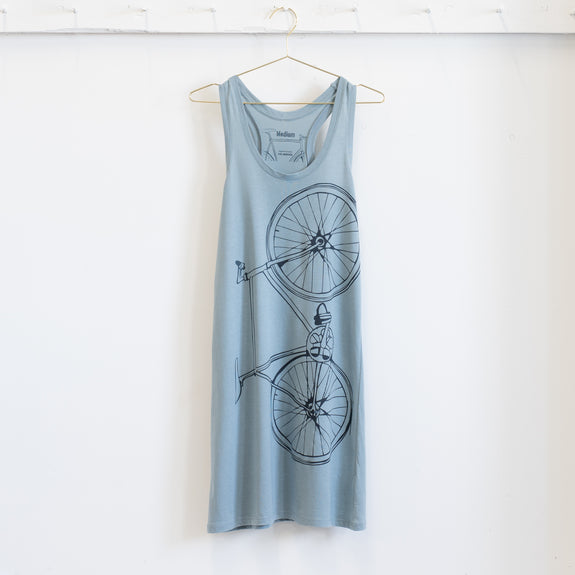 Fixed Gear Bicycle Women's Tank Dress clothing bike summer modal