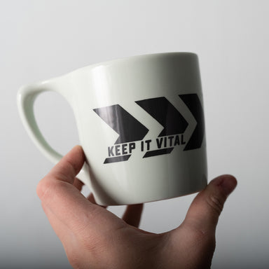 Mint Chevron Vital Industries Mug
