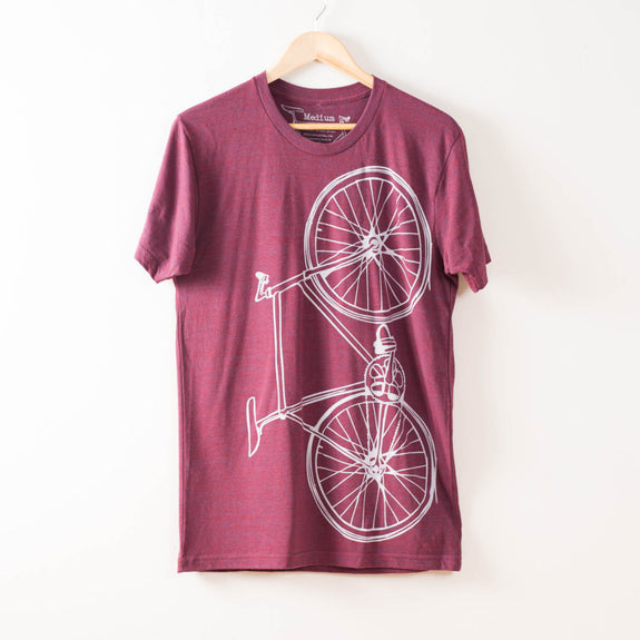 Men's Fixie Tee - Cranberry