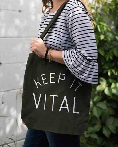 Keep It Vital Reusable Tote