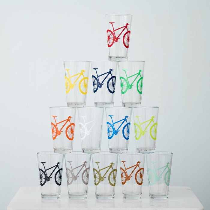 Mountain Bike Pint Glasses - Vital Industries