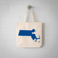 Boston Massachusetts State tote bag