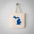 Detroit Michigan State Tote Bag