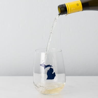 State Stemless Wine Glass M-N