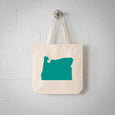 Portland Oregon State Tote Bag