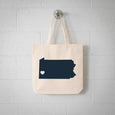 Pittsburgh Pennsylvania State Tote Bag