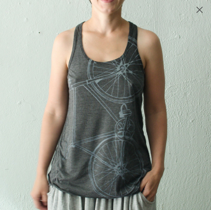 Final Sale - Fixie Racerback Tank