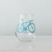 Bicycle Stemless Wine Glass - Vital Industries