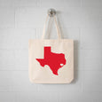 Houston Texas State Tote Bag