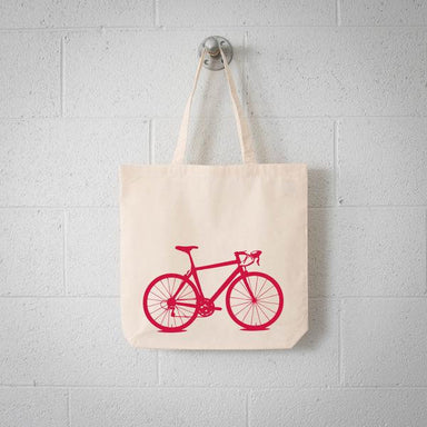 ECO Vital Bicycle tote - bike screen print natural bag - Vital Industries