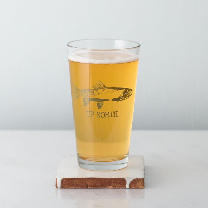 Up North Pint Glass