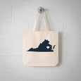 Richmond Virginia State Tote Bag