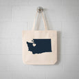 Seattle Washington State Tote Bag