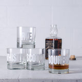 SALE Mixology Rocks Glasses