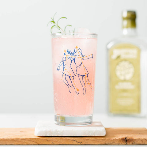 Zodiac Constellation Glassware